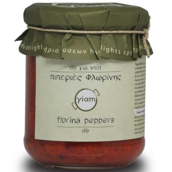 Πιπεριές Φλωρίνης, dip για ντίπ 200γρ., Ελληνικές, Γιάμ