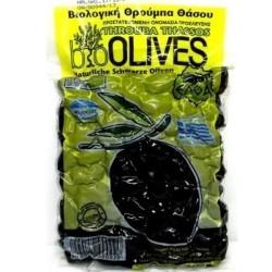 Βιολογικές Ελιές Θρούμπες Θάσου Π.Ο.Π. Bio 250γρ., Ελληνικές, Ελθα Ελιές Θάσου