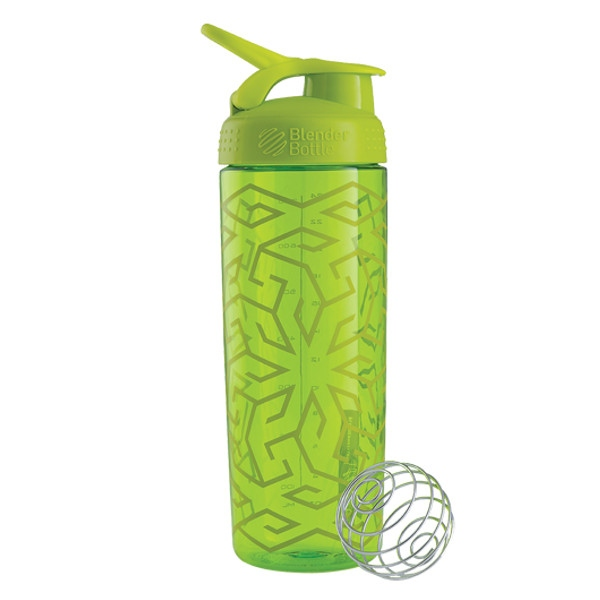Σέικερ Signature Sleek Fluo Green 820ml, Blenderbottle