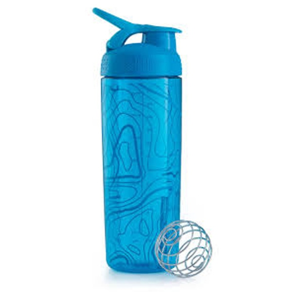 Σέικερ Signature Sleek Light Blue 820ml, Blenderbottle