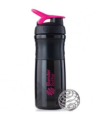 Σέικερ Sportmixer Black/Pink 820ml Blenderbottle