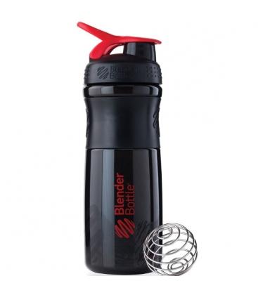 Σέικερ Sportmixer Black/Red 820ml Blenderbottle