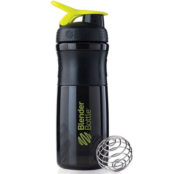 Σέικερ Sportmixer Black/Fluo Green 820ml Blenderbottle