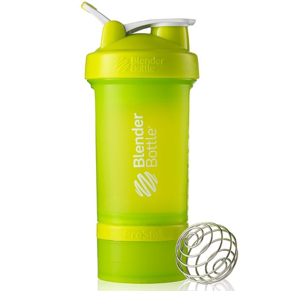 Σέικερ Prostak Fluo Green 650ml, Blenderbottle
