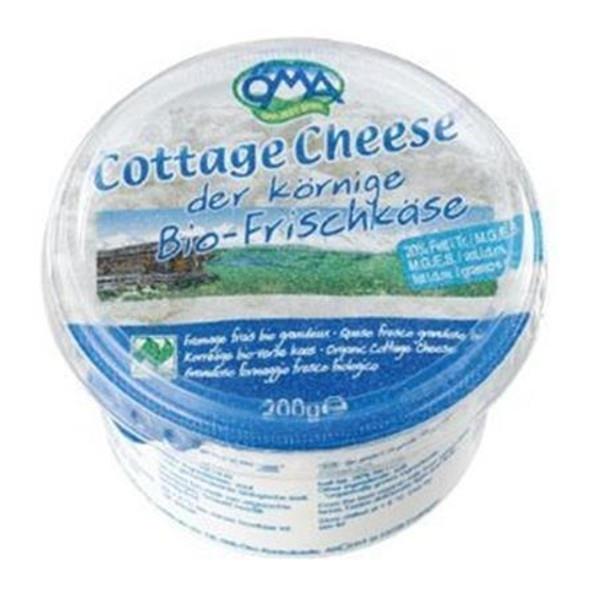 Τυρί Cottage Cheese 200γρ Βιολογικό OMA