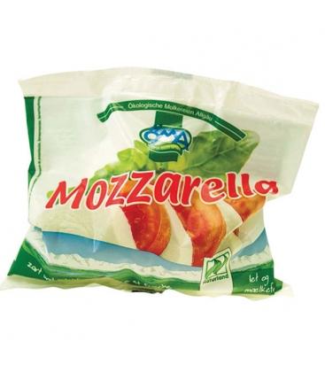 Τυρί Μοτσαρέλλα σε Άλμη 125γρ Βιολογικό OMA