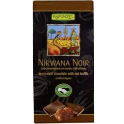 Βιολογική Σοκολάτα Σκούρη Nirwana 55% με Τρούφα Bio 150γρ., Rapunzel