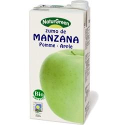 Βιολογικός Χυμός Πράσινου Μήλου Bio 1lt, Naturgreen