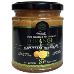 Βιολογική Μαρμελάδα Πορτοκάλι 360γρ. Bio, Ελληνική, Γεωδή