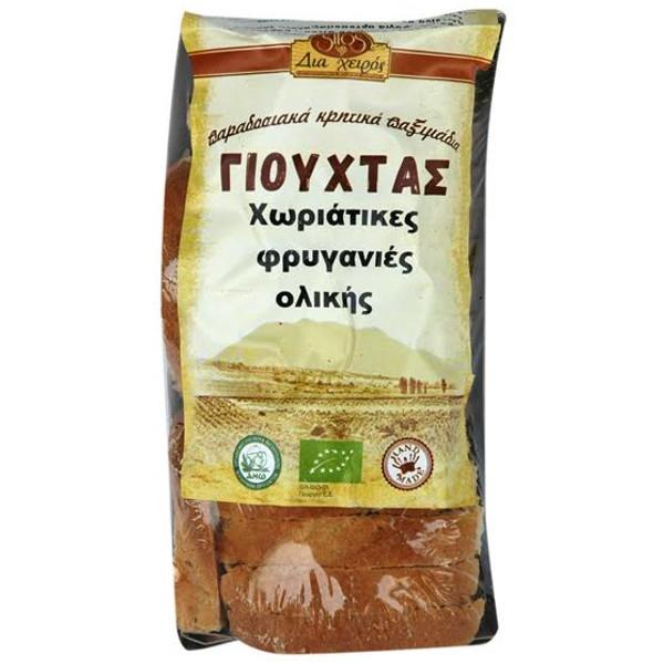 Βιολογικές Φρυγανιές Χωριάτικες Ολικής 200γρ. Bio, Ελληνικές, Γιούχτας