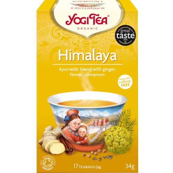 Τσάι Himalaya 30gr 17φακ. Βιολογικό Yogi Tea