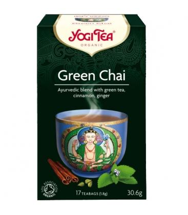 Τσάι Πράσινο 30gr 17φακ. Βιολογικό Yogi Tea