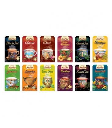 Τσάι Throat Comfort 30gr 17φακ. Βιολογικό Yogi Tea