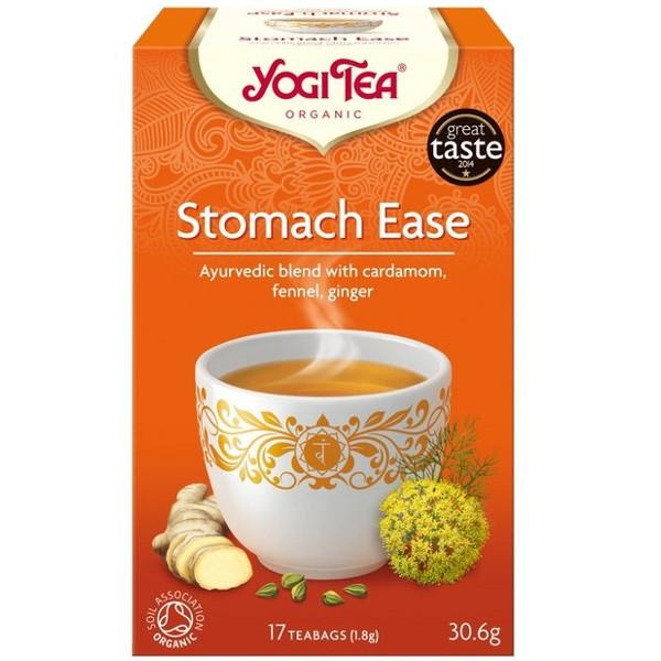 Βιολογικό Τσάι Stomach Ease 17 φακελάκια 30γρ. Bio, Yogi Tea