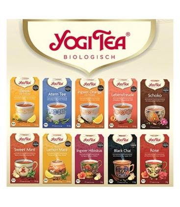 Τσάι Πράσινο Stomach Ease 30gr 17φακ. Βιολογικό Yogi Tea