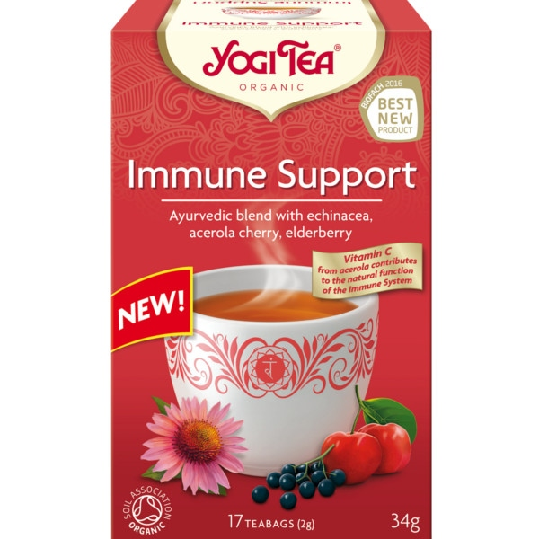 Βιολογικό Τσάι Immune Support 17 φακελάκια 34γρ. Bio, Yogi Tea