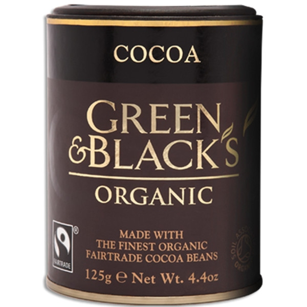 Βιολογικό Κακάο σε Σκόνη Bio 125γρ., Green & Blacks