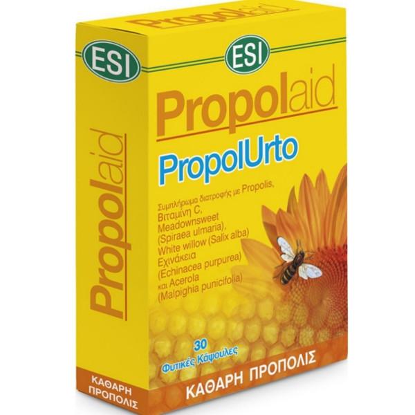 Πρόπολη Κάψουλες Propolaid Urto 30caps, Esi