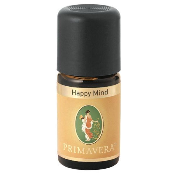 Βιολογικό Αιθέριο Έλαιο Μείγμα Ευτυχισμένο Πνεύμα (Happy Mind) 5ml Bio, Primavera