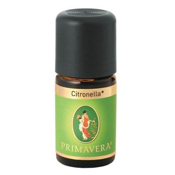 Βιολογικό Αιθέριο Έλαιο Σιτρονέλλα (Citronella) 5ml Bio, Primavera