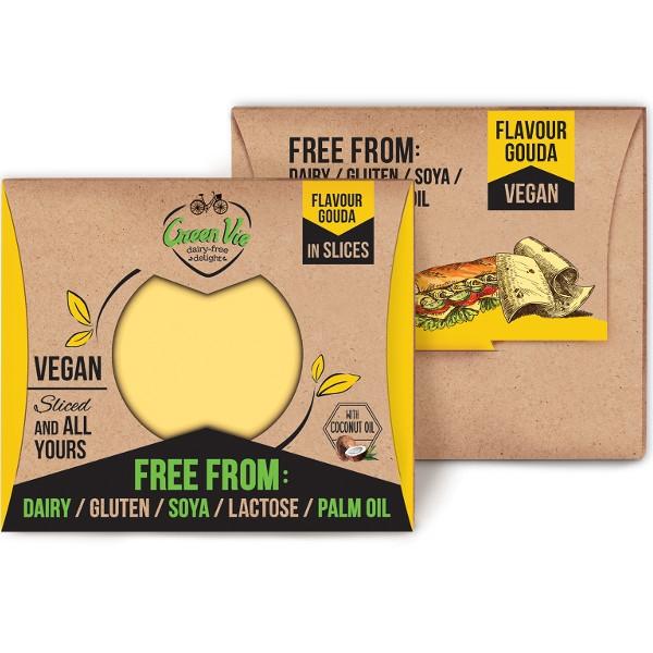 Φυτικό Τυρί Μοτσαρέλα σε Φέτες 180γρ GreenVie