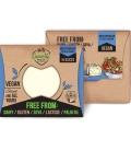 Φυτικό Τυρί με Μεσογειακή Γεύση σε Φέτες 180γρ., Ελληνικό, GreenVie Foods