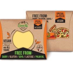 Φυτικό Τυρί για Πίτσα σε Φέτες 180γρ., Ελληνικό, GreenVie Foods