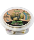 Ελιές Γεμιστές με Φυτικό Τυρί 250γρ., Ελληνικές, GreenVie Foods