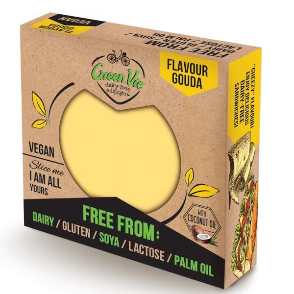 Φυτικό Τυρί Γκούντα 250γρ., Ελληνικό, GreenVie Foods