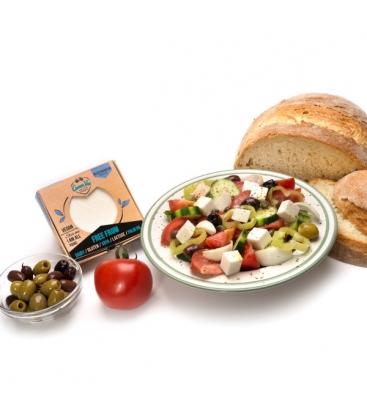 Ελληνικό Φυτικό Τυρί με Μεσογειακή Γεύση 250γρ. GreenVie
