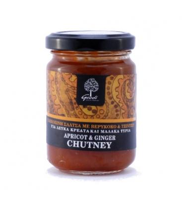 Chutney Βερύκοκο με Τζίντζερ 180γρ., Ελληνικό, Γεωδή