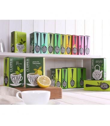 Τσάι Πράσινο με Ginseng (20 φακελάκια), Clipper