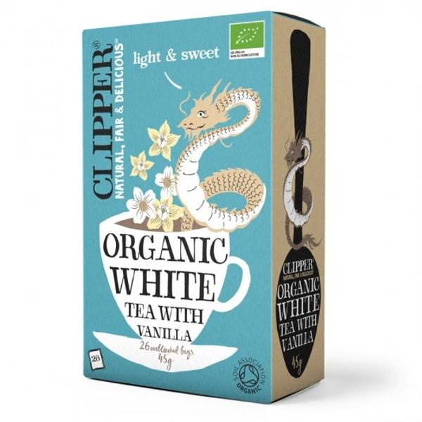 Βιολογικό Λευκό Τσάι με Βανίλια Bio 26 φακελάκια, Clipper