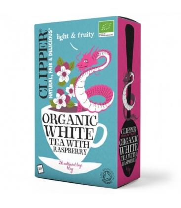 Λευκό Τσάι με Βατόμουρο Bio 26 φακελάκια, Βιολογικό, Clipper
