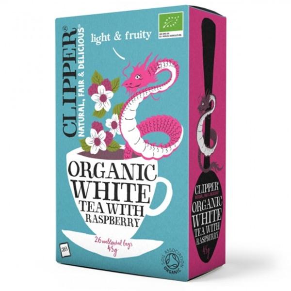 Βιολογικό Λευκό Τσάι με Βατόμουρο Bio 26 φακελάκια, Clipper
