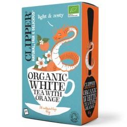 Βιολογικό Λευκό Τσάι με Πορτοκάλι Bio 26 φακελάκια, Clipper