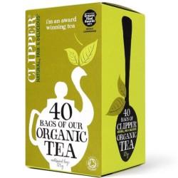 Βιολογικό Τσάι, 40 φακελάκια, Bio Clipper