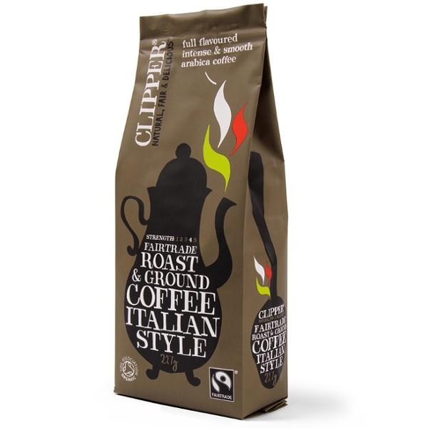 Βιολογικός Καφές Φίλτρου Bio Italian Style, Clipper