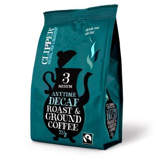 Βιολογικός Καφές Φίλτρου Ντεκαφεϊνέ 227γρ., Clipper