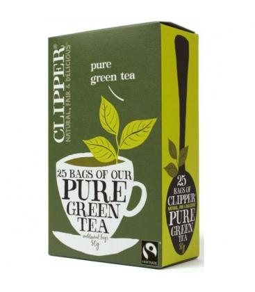 Τσάι Πράσινο Bio 25 φακελάκια, Βιολογικό, Clipper