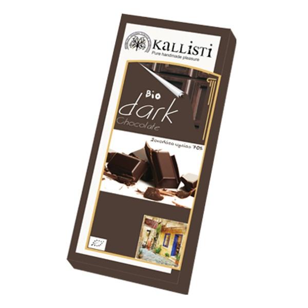 Βιολογική Σοκολάτα Υγείας Bio 50γρ., Ελληνική, Kallisti