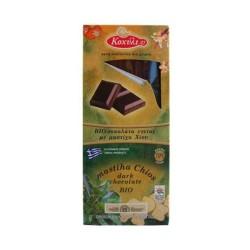 Βιολογική Σοκολάτα Υγείας με Μαστίχα Χίου Χειροποίητη Bio 60γρ., Ελληνική, Κοχύλι