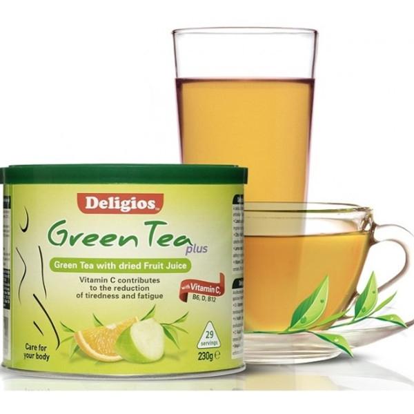 Green Tea Plus με Εσπεριδοειδή 230γρ., Deligios