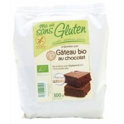 Βιολογικό Έτοιμο Μείγμα για Κέικ Σοκολάτας Bio Χωρίς Γλουτένη 300γρ., Euro-Nat