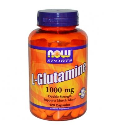 L-GLUTAMINE 1000 mg - 120 Caps Now Foods