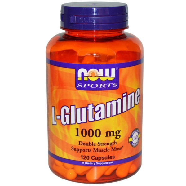 Συμπλήρωμα L-Glutamine 1000 mg - 120 Caps Now Foods