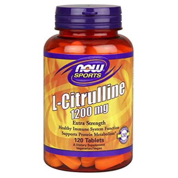 L-Citrulline 1200mg - 120 Vcaps® Now Foods