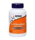 Συμπλήρωμα L-Citrulline (Κιτρουλίνη) Σκόνη 4oz 113γρ Now Foods