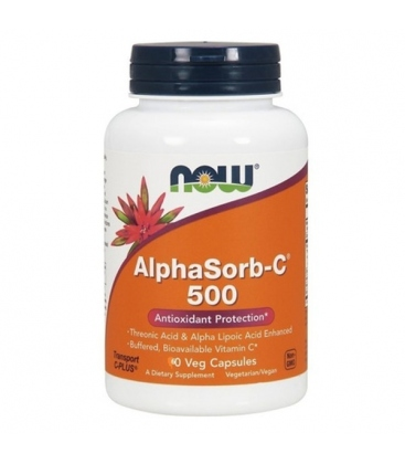 Συμπήρωμα Alphasorb-C™ 500 mg 60 Vcaps® Now Foods