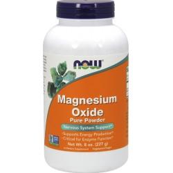 Συμπλήρωμα Μαγνησίου σε Σκόνη Magnesium Oxide 8 oz. Now Foods